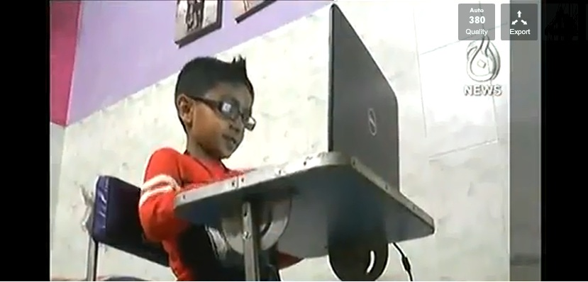 Class Three Student Meroz Yawar became Microsoft Youngest Technologist