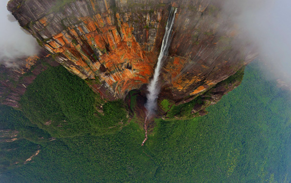 Highest waterfall of the world