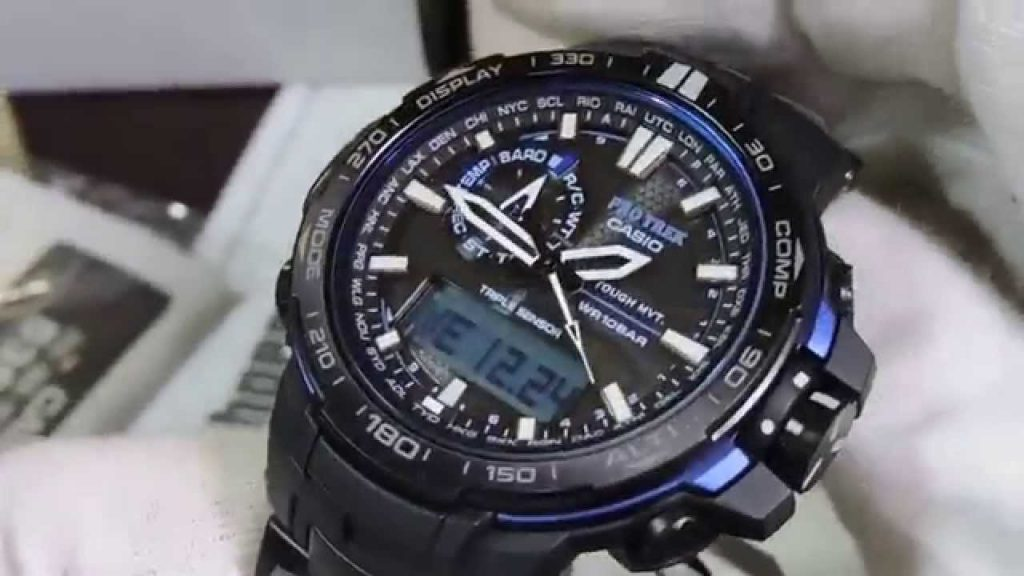 Digital and Analog Casio wrist watches