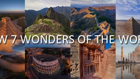 SEVEN NEW WONDERS OF THE WORLD