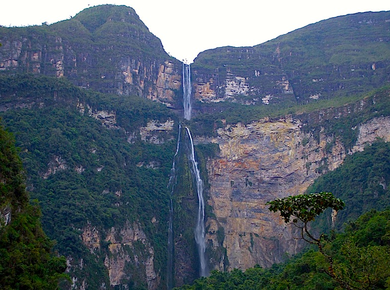 second highest waterfall in the world