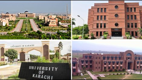 TOP SIX PAKISTANI UNIVERSITIES RANKED WORLDWIDE