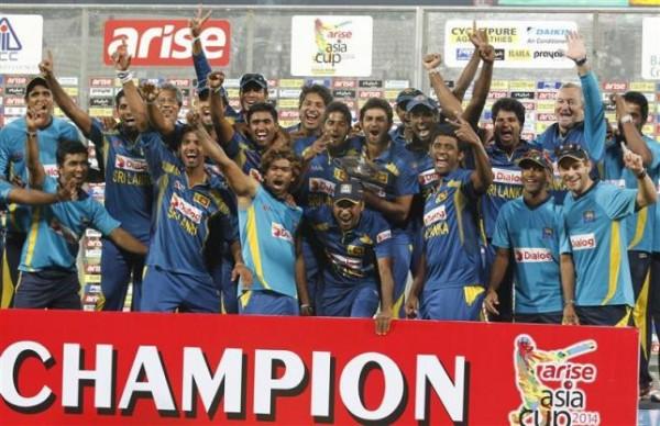 Sri Lanka Asia cup champions