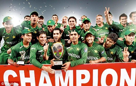 asia cup pakistan Champions