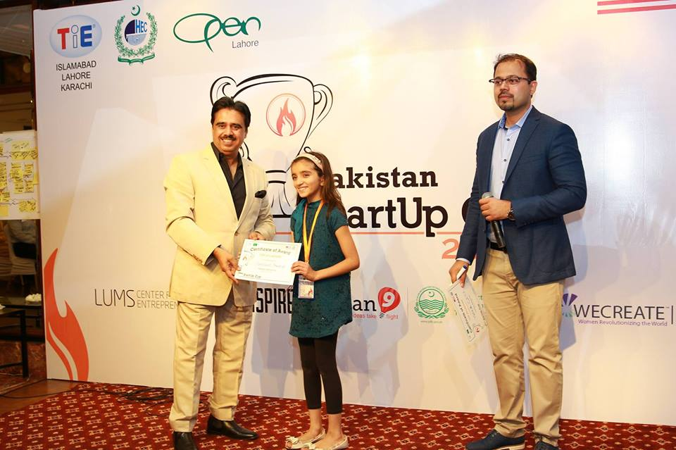 Zymal Umar Tie's Award holder