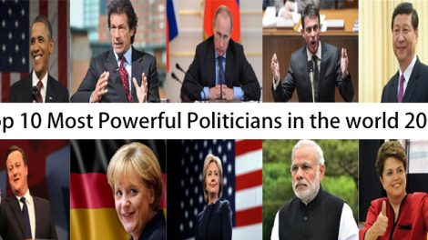 Top 10 Most Powerful Politicians in the world 2016