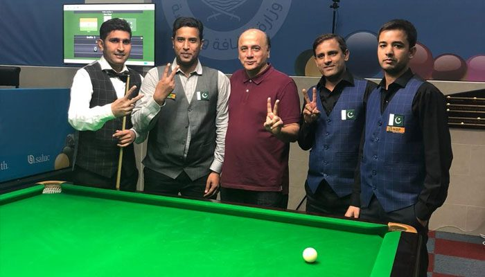 Pakistan beat India to clinch Asian Team Snooker Championship